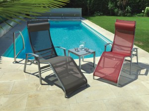 Chaise longue California Top des piscines