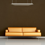 Radiateur infrarouge long blanc Vitramo plafond 260 watts
