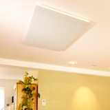 Radiateur infrarouge long blanc Vitramo plafond 810 watts