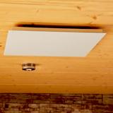 Radiateur infrarouge long blanc Vitramo plafond 1210 watts