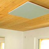 Radiateur infrarouge long blanc Vitramo plafond 1650 watts