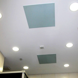 Radiateur infrarouge long verre blanc Vitramo plafond 220 watts