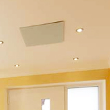 Radiateur infrarouge long verre blanc Vitramo plafond 770 watts