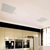 Dalle plafond infrarouge long blanc Vitramo 810 watts  618x618