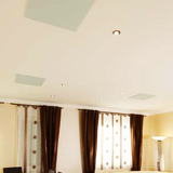 Dalle plafond infrarouge long blanc Vitramo 810 watts  593x593