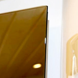 Radiateur miroir infrarouge  340 watts sans cadre Vitramo