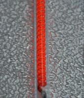Spirale de carbone de la lampe infrarouge